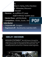 HARLEY-DAVIDSON final ppt