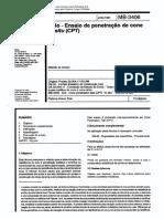 MB3406-Ensaio de Penetração CPT