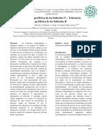 Tolerancia periférica en linfocitos