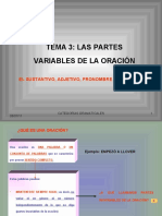 3partesvariableseinvariablesdelaoracion-110507043403-phpapp01