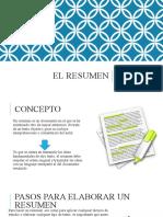 El resumen (4)