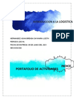PORTAFOLIO LOGISTICA
