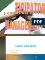Participative Management PPT..