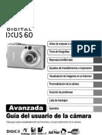 Canon IXUS 60 Manual Usuario