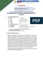3°- IIIB-E.A.05-CONSTRUIMOS UN PAÍS LIBRE DE DISCRIMINACIÓN CON UNA CIUDADANÍA CRITICA Y ACTIVA. (1)