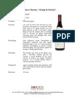 charton red burgundy fact sheet