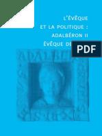 L'évêque et la politique saint Aldabéron II de Metz