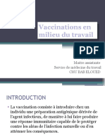Vaccination Td