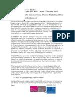 Communities 2.0 case study - Gofal Enterprises - version 1 - February 2011