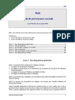 mali-code-prevoyance-sociale-1999-maj-2006
