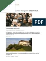 Geschichte – Franziskaner