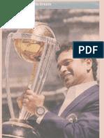 Rang De World Cup Fever on Economic Times