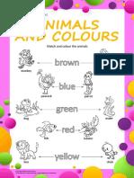 животные (цвета)