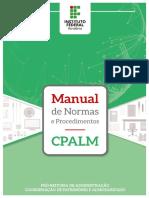 Manual de Normas e Procedimentos - CPALM