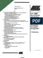 Datasheet Atmel-ATMEGA168-20PU