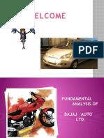 Fundamental Analysis of Bajaj Auto Ltd