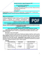 2_3º ANO Bloco Estudos 5 Língua Portuguesa - Home School Palmas