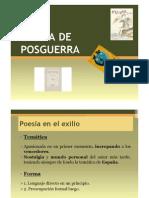 POESÍA POSTGUERRA