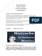 TRABAJANDO CON TEXTOS DE NIETZSCHE