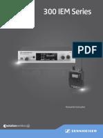 EwG3Set300IEM Manual 09 2014 PT