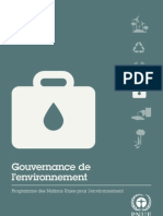 Environmental Governance (French)