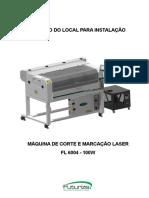 INSTRUÇÕES DE INSTALAÇÃO FL6004 100W - R0