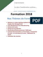 Brochure Leith Lakhoua de Formation 2018