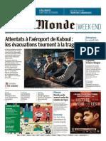 Le Monde - No. 23,837 [28 Aug 2021]