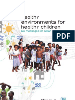 Healthy environments healthy children