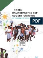 Healthy environments healthy children