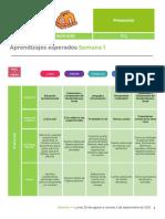 Programa Aprende en Casa 2021-2022Edomex Preescolar-Secundaria