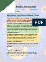 Microbiologia e Imunologia