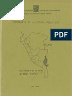1996 - Andazabal, Rosaura y Miguel Pinto - Geografía de la sierra, siglo XIX Puno