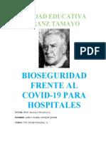 Bioseguridad Frente Al Covid-19 Para Hospitales