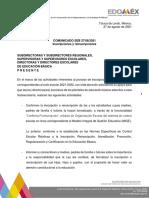 Comunicado SEB 27/08/2021