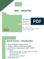 8051 – Serial Port