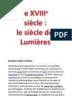 Le XVIIIe siecle presentation2