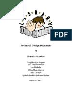 Library Defender_TDD