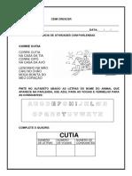 Sequencia de atividades - CORRE C
