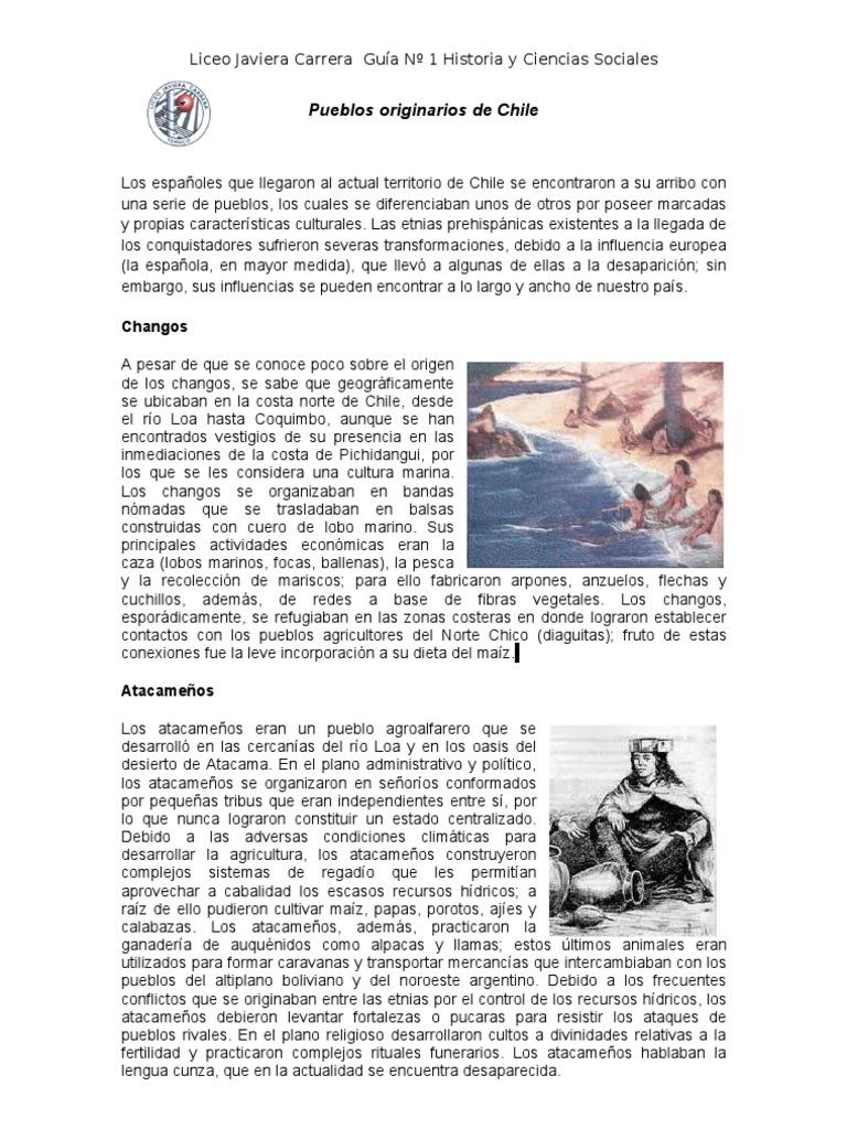 Guia de los pueblos originarios de Chile | Chile | Pueblos ...