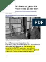 Claude Lévi Strauss COVID