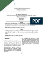 Informe 4.Difraccion de Rayos x