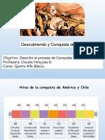 PPT, quinto básico. Conquista de Chile