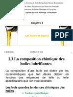 Cours Caractéristiques des huiles de base_II