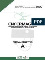 Prova_A-Enfermagem_2020 UFGD