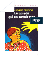 IB Fontayne Lucie Rauzier Le Garçon Qui en Savait Trop 1977