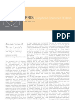 IPRIS Lusophone Countries Bulletin January 2011
