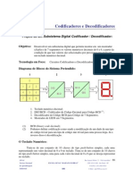 Pratica 1  -  Codificadores e Decodificadores