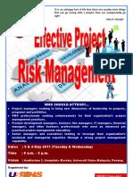 Project Risk Management 2011