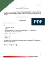 Cálculo 4 Respuestas